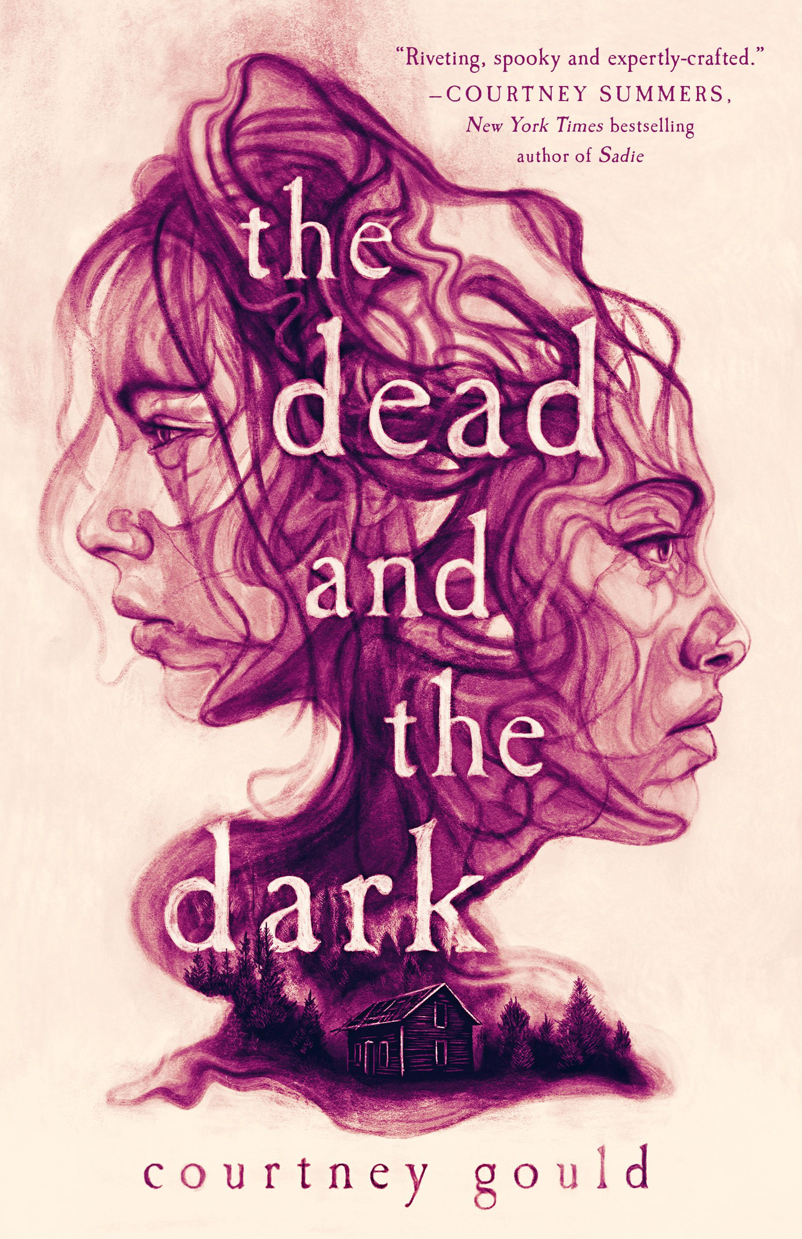 Cover image of The Dead and the Dark by Courtney Gould
