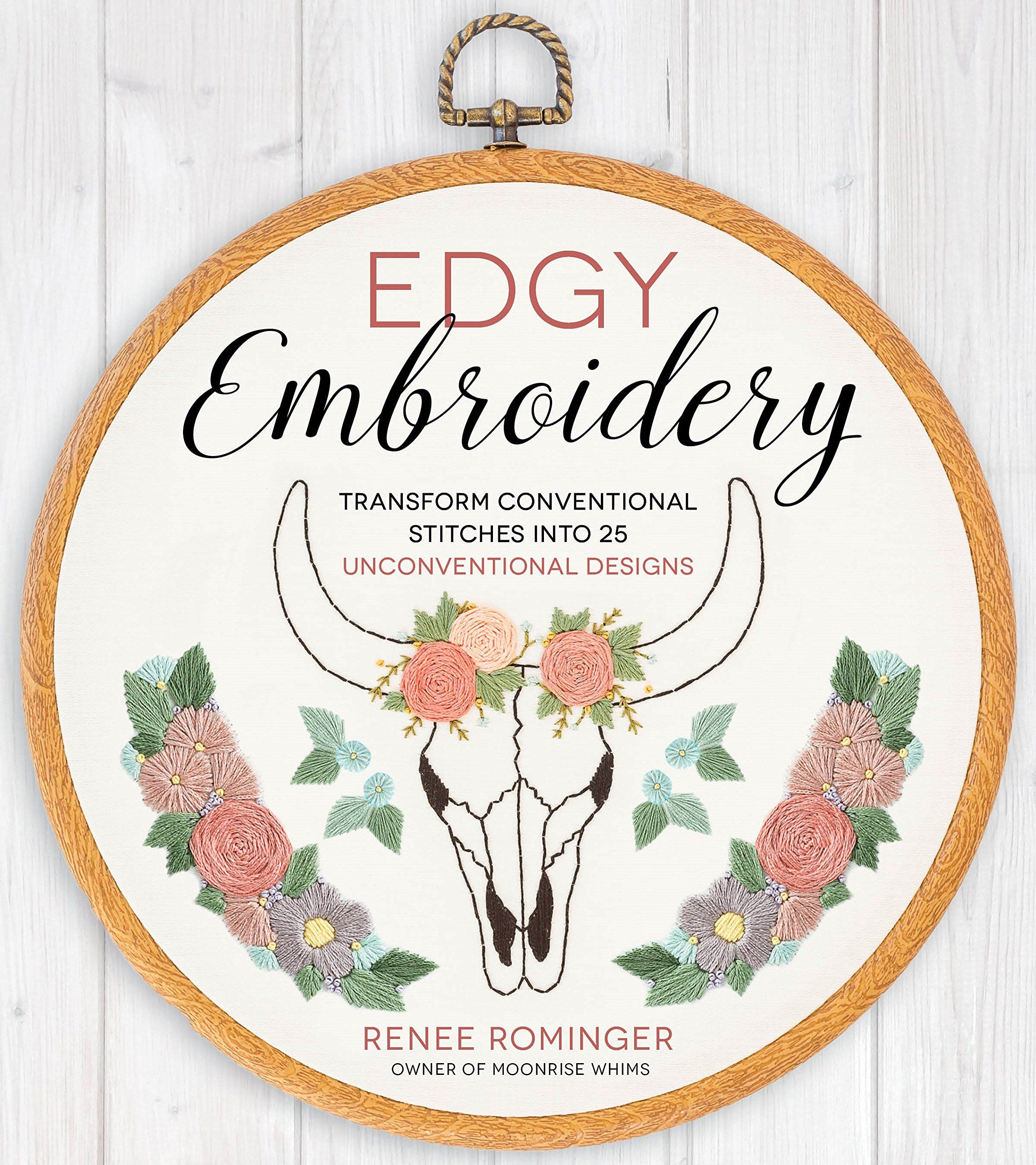 Book cover image of Edgy Embroidery