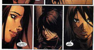 lady shiva comic panel