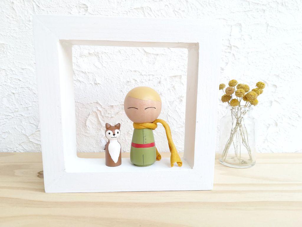 little prince peg dolls