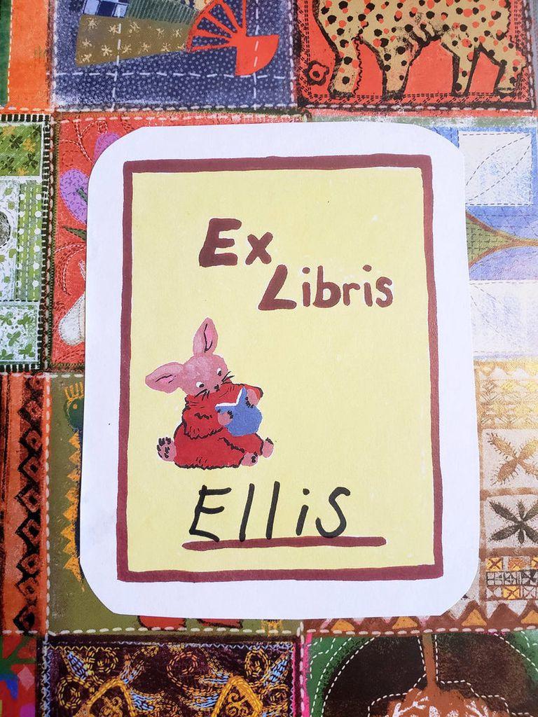 printable rabbit book plates