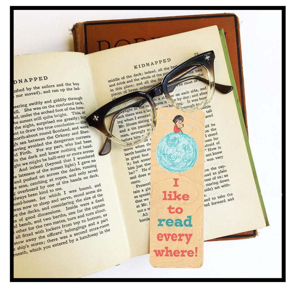 read everywhere bookmark