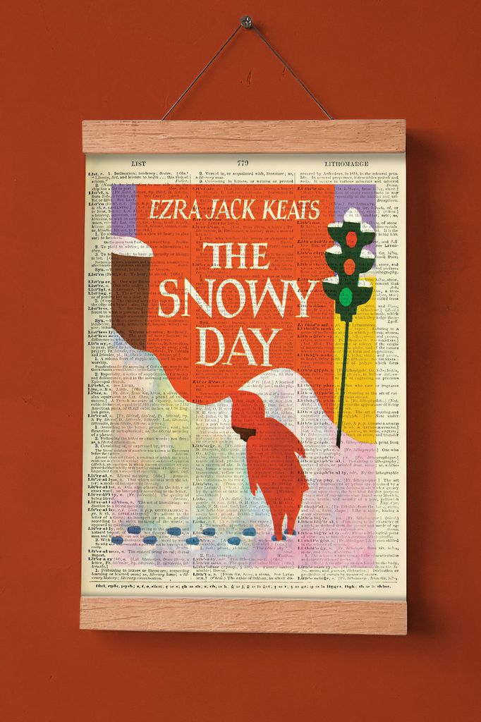 snowy day print