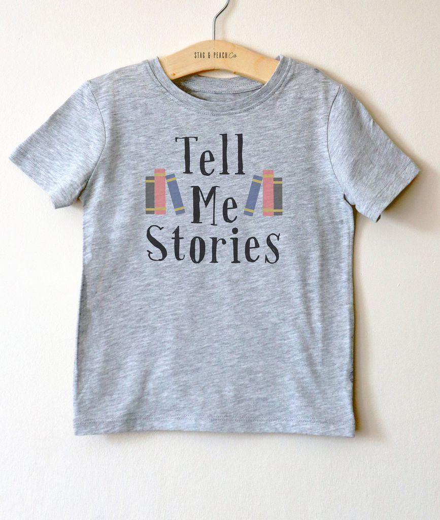tell me stories tee