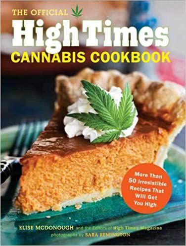 Capa do livro oficial do High Times Cannabis Cookbook