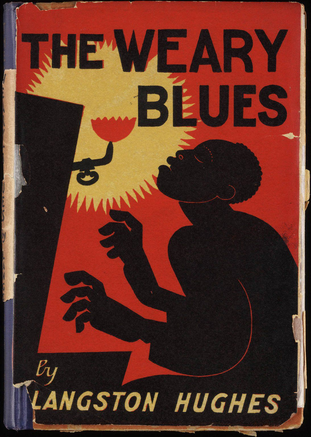 cover image of The Weary Blues by Langston Hughes