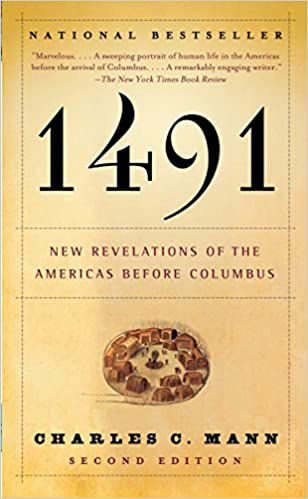book cover of 1491 by charles mann