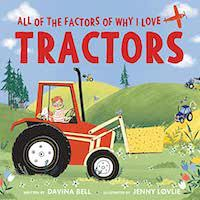 All of the Factors of Why I love tractors book cover.jpg.optimal