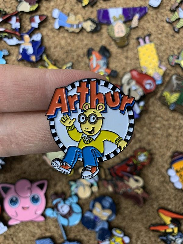 Arthur Emblem Custom Enamel Pin.jpg.optimal