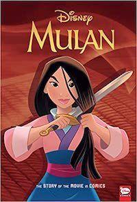 Disney Mulan Gregory Ehrbar Cover