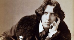 Photo of Oscar Wilde by Napoleon Sarony