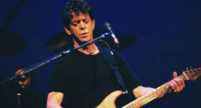 Lou Reed performing live at Arlene Schnitzer Concert Hall in Portland, Oregon, 2004