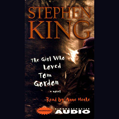 Capa do audiolivro de The Girl Who Loved Tom Gordon, de Stephen King