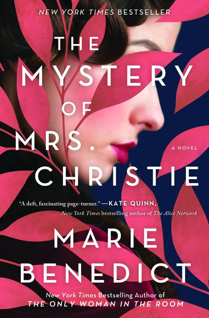 The Book Cover for The Mystery of Mrs. Christie