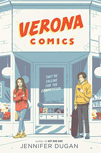 Verona Comics by Jennifer Dugan Cover