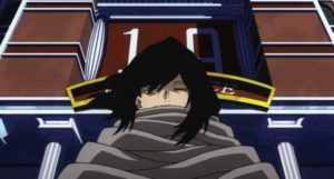 aizawa from my hero academia film still