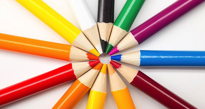 colored pencils for coloring books