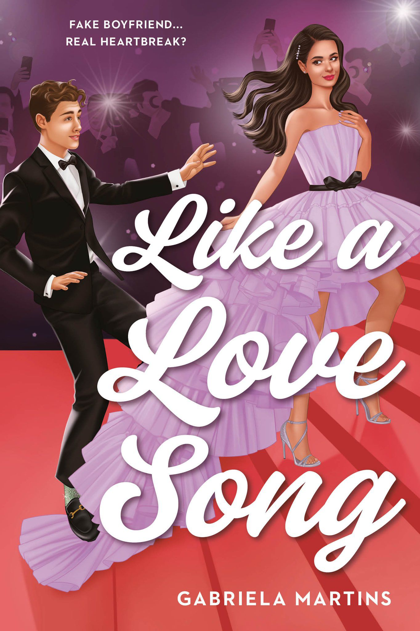 Like a Love Song from Fake Dating Books 2021 | bookriot.com