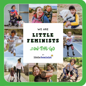 We are little feminists on the go book cover
