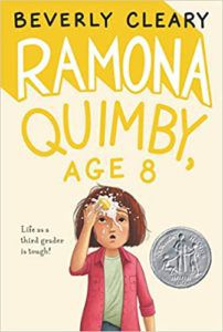 ramona quimby age 8 by beverly cleary cover
