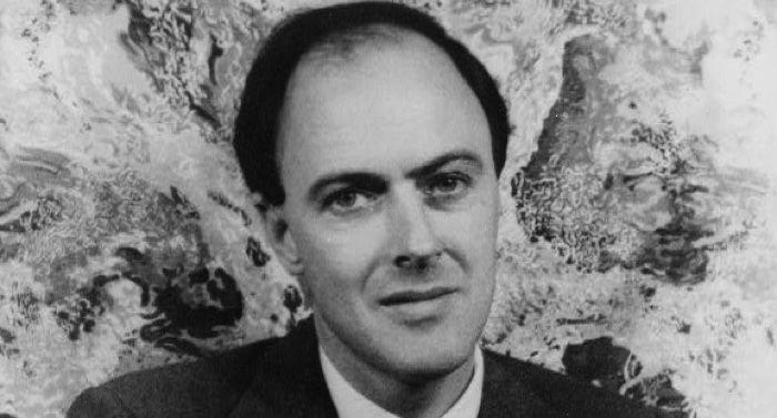 portrait of Roald Dahl