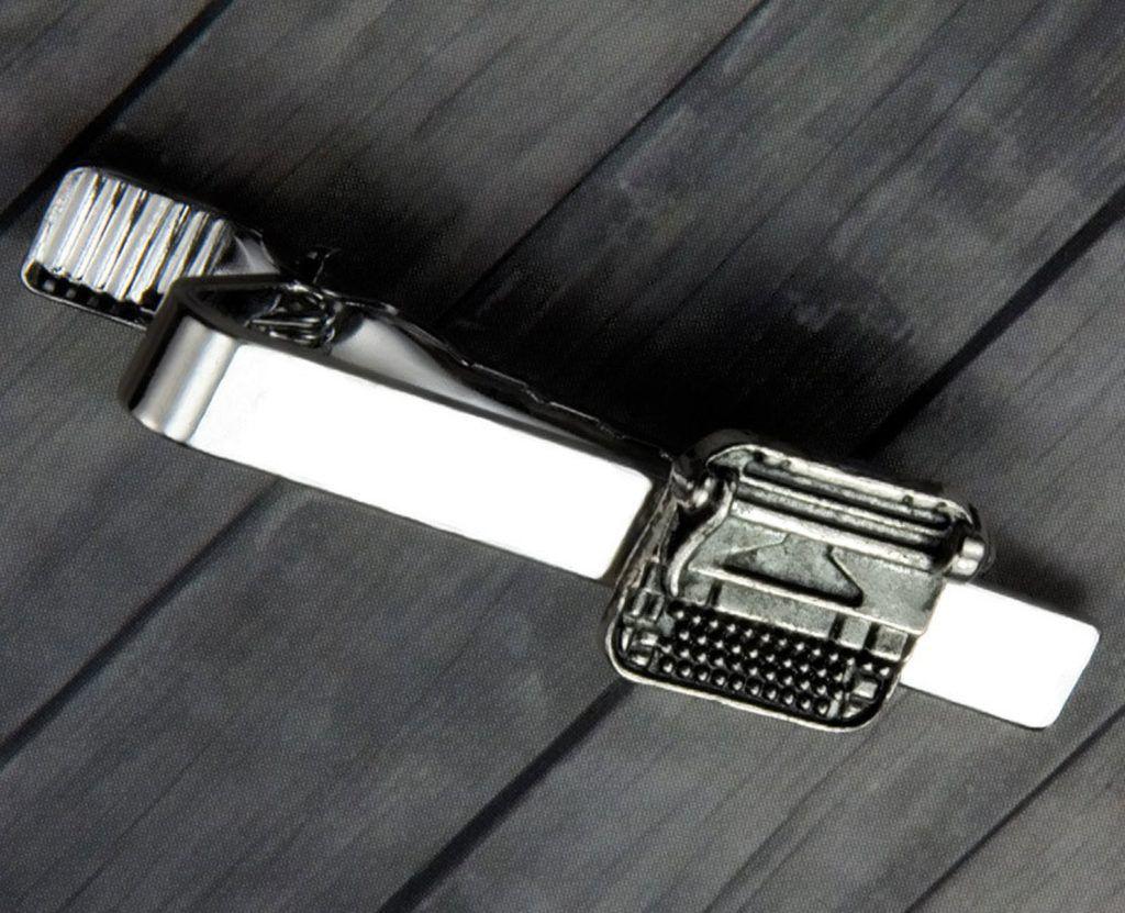 typewriter tie clip