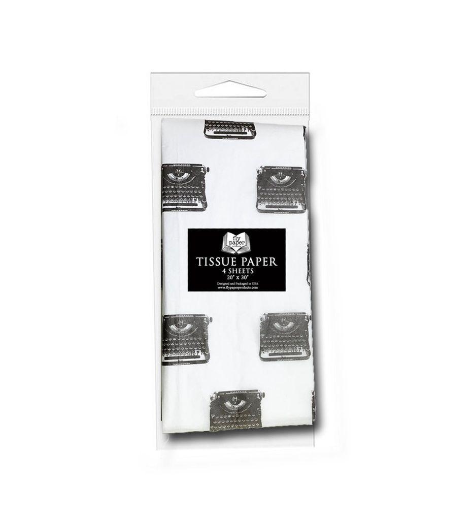 typewriter tissue paper