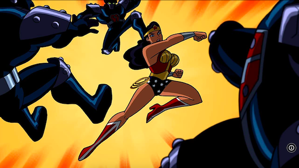 wonder woman batman the brave and the bold
