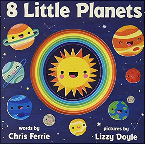 7 Science Board Books in English and/or Spanish