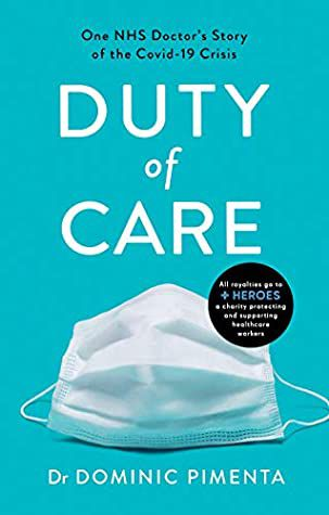 Book Cover of Duty of Care by Dr Dominic Pimenta