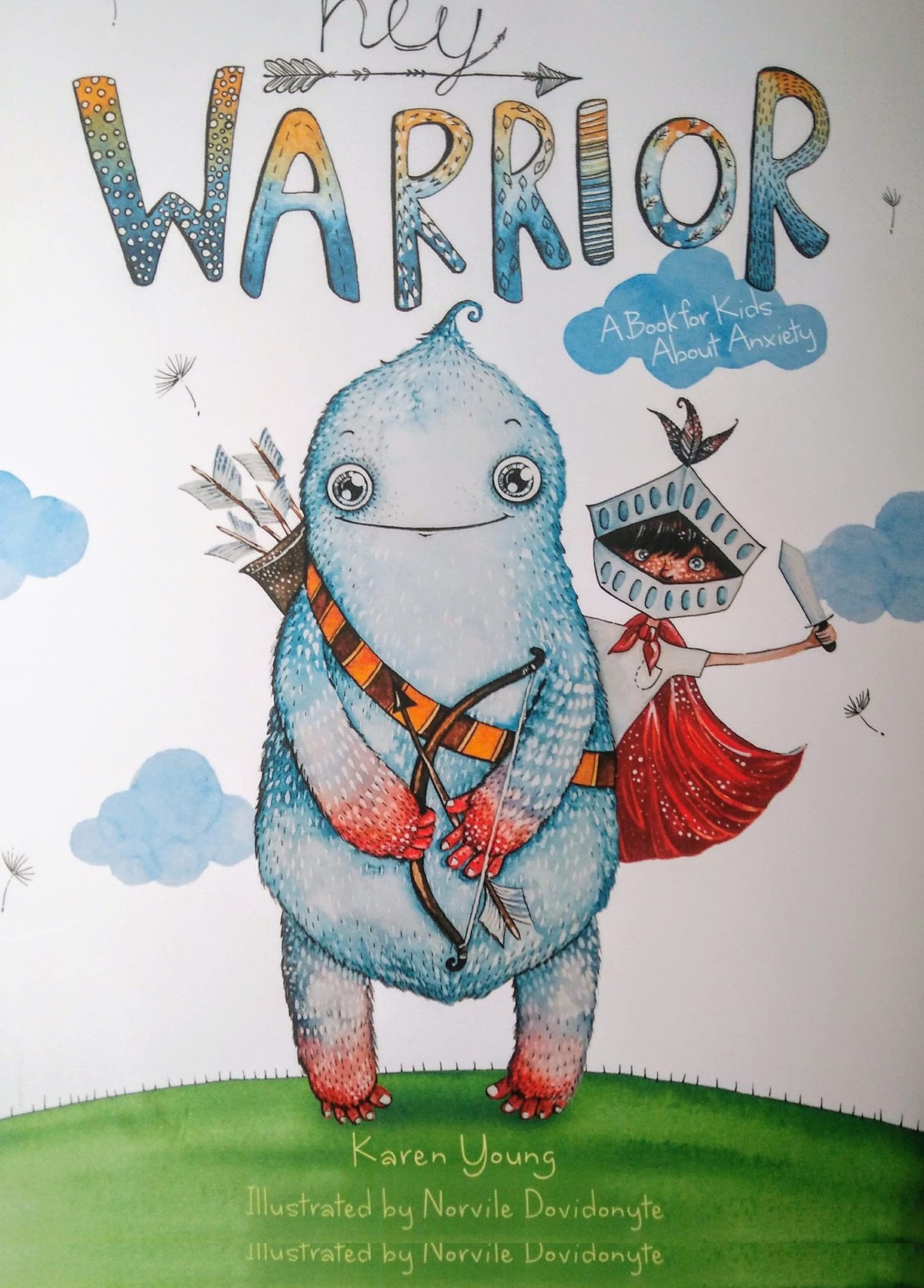 Hey Warrior cover