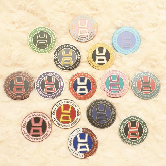 My Hero Academia Apprentice Hero Pins