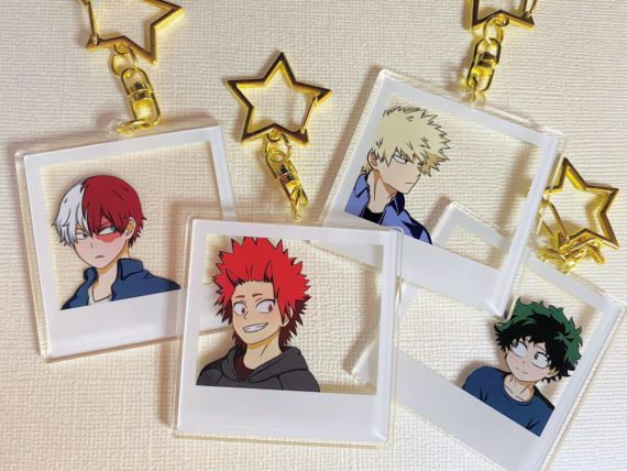 My Hero Academia Character Keyrings