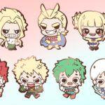 My Hero Academia Chibi Character Enamel Pins