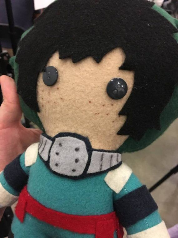 My Hero Academia Midoriya Izuku Plush Doll