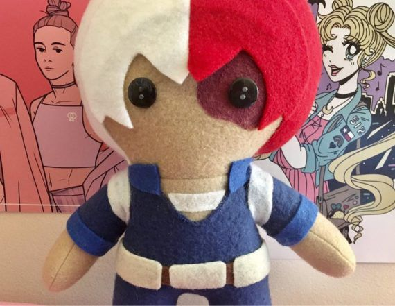 My Hero Academia Todoroki Shoto Plush Doll
