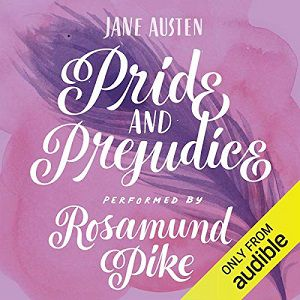 Audible cover of Pride and Prejudice