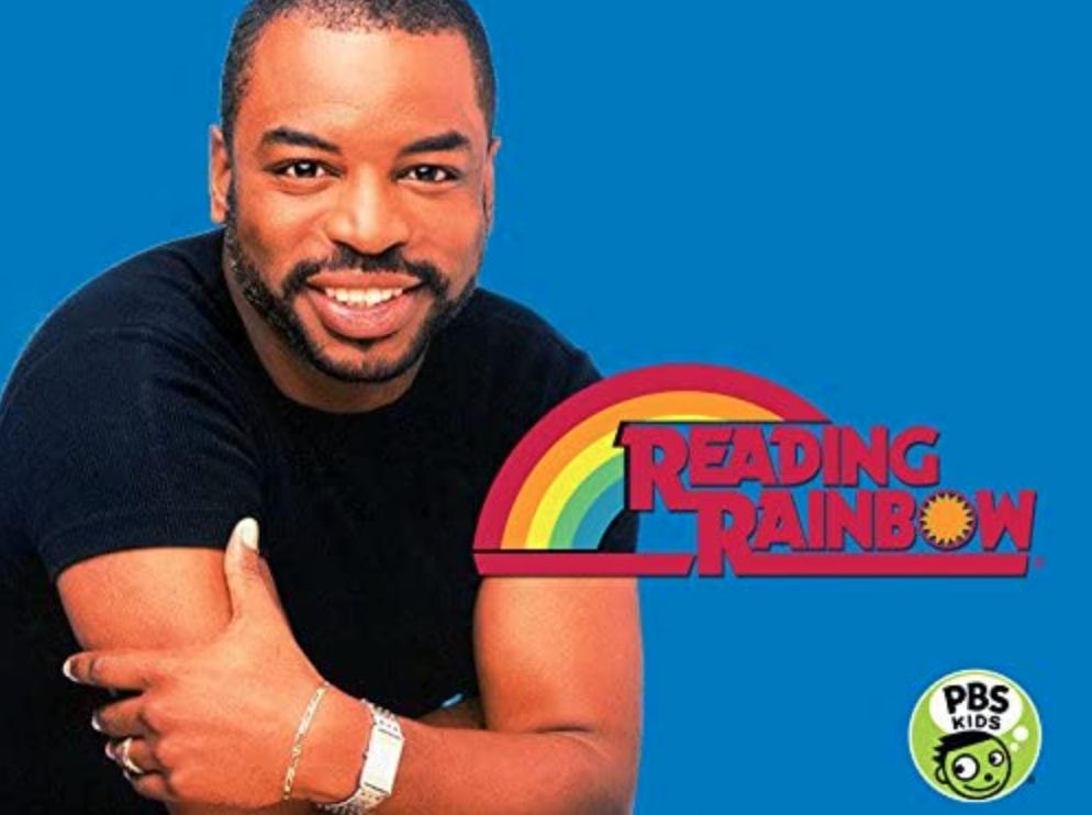Reading Rainbow promo