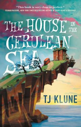 The House In the Cerulean Sea cover, sadly with no cats on it
