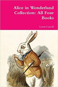 alice in wonderland collection by lewis caroll cover