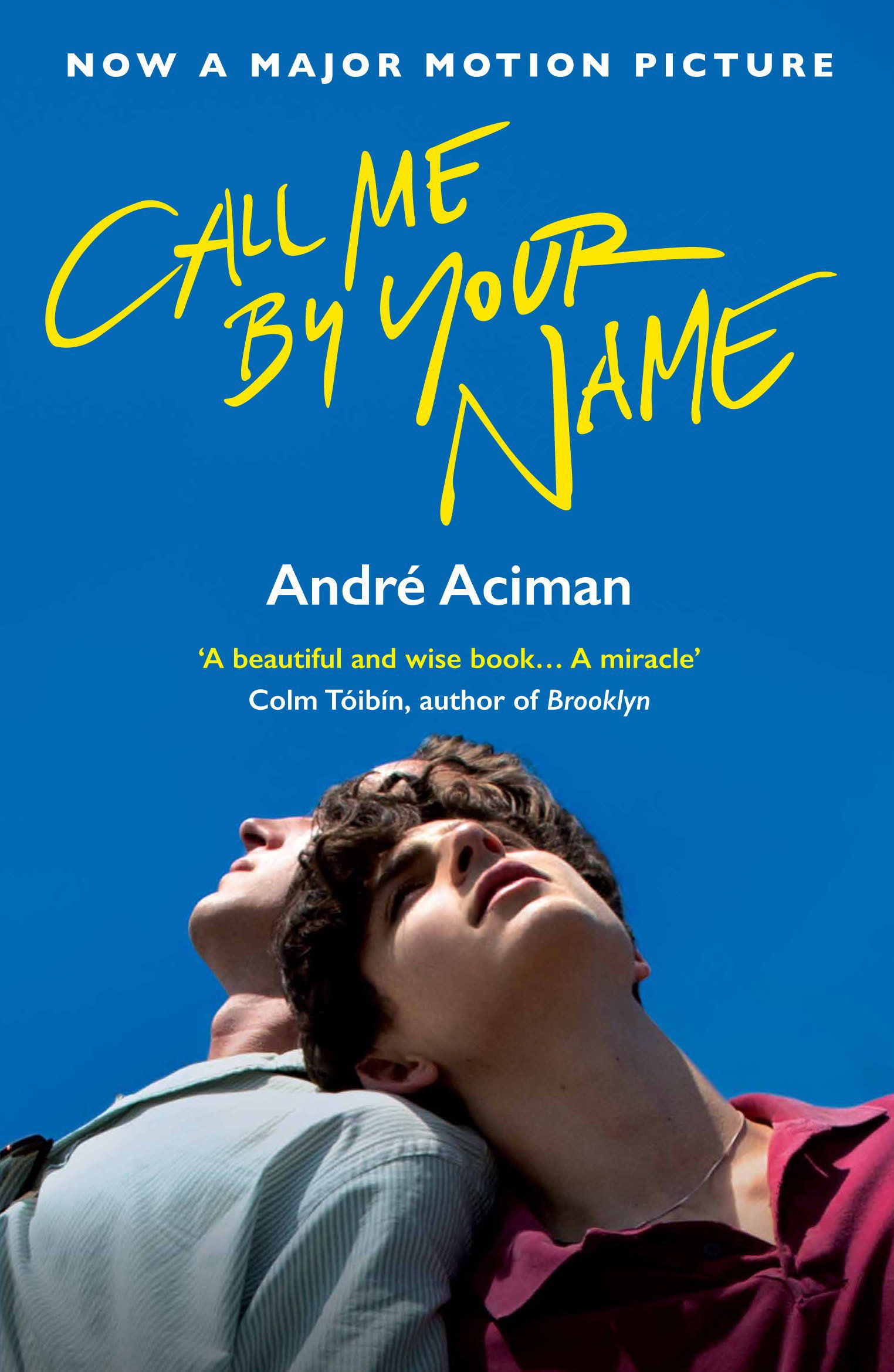 cover of Call Me By Your Name by André Aciman