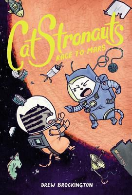 catstronauts race to mars book cover