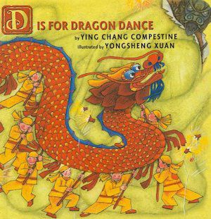capa do livro d-is-for-dragon-dance