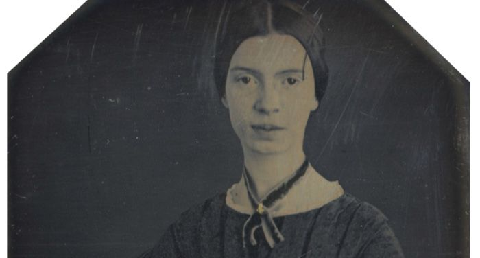 Daguerrotype of Emily Dickinson, c. early 1847