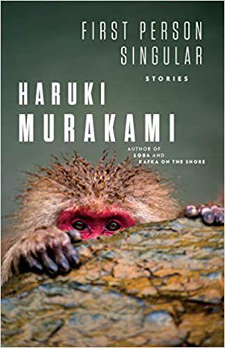 cover of first person singular by haruki murakami