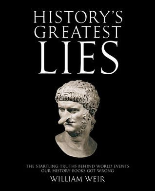 book covers of history's greatest lies