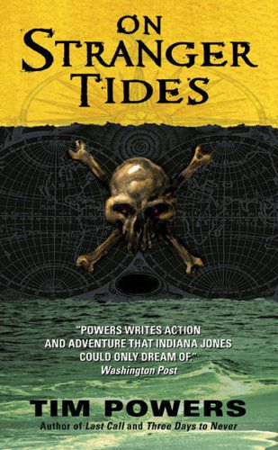 cover image of On Stranger Tides by Tim Powers