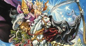 mort discworld books cover feature