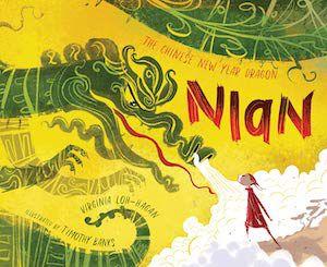 capa do livro do dragão do ano novo chinês