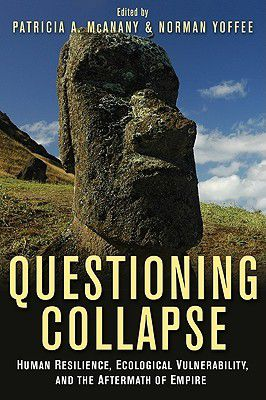book cover of questioning collapse